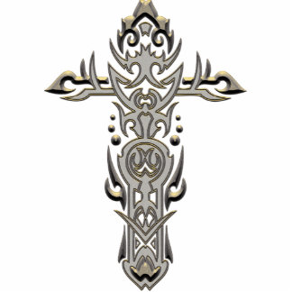 Christian Ornate Cross 57 Photo Cut Out