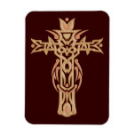 Christian Ornate Cross 60 Magnet