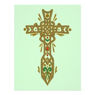 Christian Ornate Cross 62 Flyer