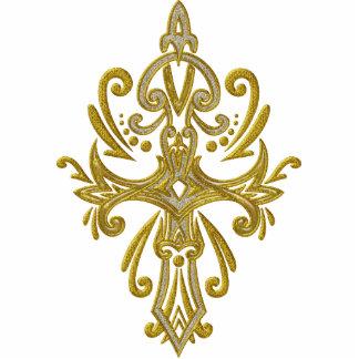 Christian Ornate Cross 73 Cutout