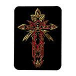 Christian Ornate Cross 74 Magnets