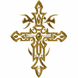 Christian Ornate Cross 77 Cut Out