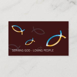 Pastor business cards zazzle christian pastor priest business card colourmoves