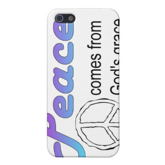 Christian peace sign God's grace iPhone SE/5/5s Cover