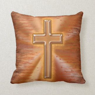 Decorative Pillows With Crosses : Christian Cross Pillows - Decorative & Throw Pillows Zazzle