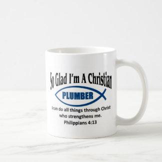 Christian Plumber Coffee Mug