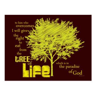 Christian postcard: Tree of Life