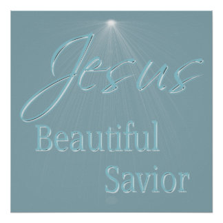 Christian Poster with Saying