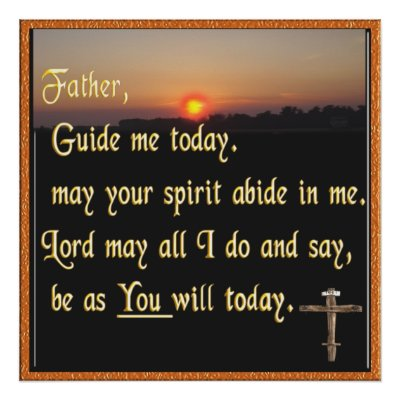 Christian Inspirational Posters on Christian Prayer Poster