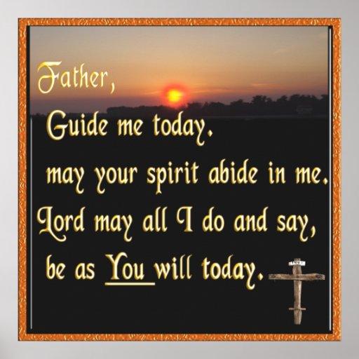 Christian prayer poster