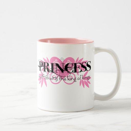 Christian Princess Two-Tone Coffee Mug