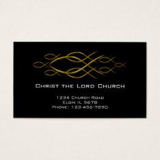 Christian Profile Card at Zazzle