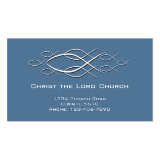 Christian Profile Card Double-Sided Standard Business Cards (Pack Of 100)