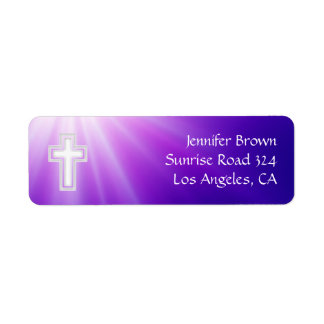 Christian | Purple Rays Label