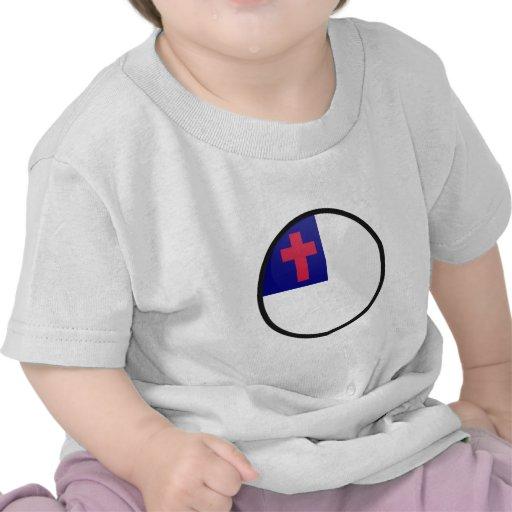 Christian quality Flag Circle T Shirt