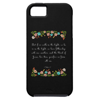 Christian Quote Art - 1 John 1:17 iPhone SE/5/5s Case