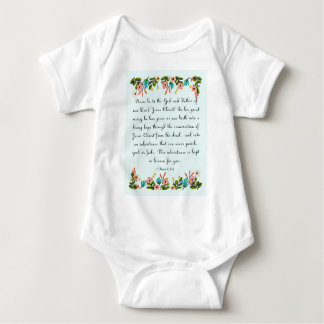 Christian Quote Art - 1 Peter 1:3-4 Tee Shirt
