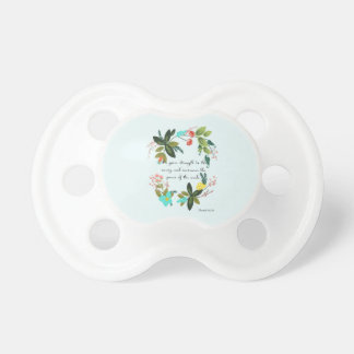 Christian Quote Art - Isaiah 40:29 Pacifier