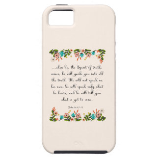 Christian Quote Art - John 16:12-13 iPhone SE/5/5s Case