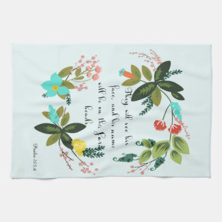 Christian Quote Art - Numbers 6:25 Hand Towels