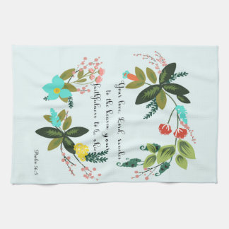 Christian Quote Art - Psalm 36:5 Towels