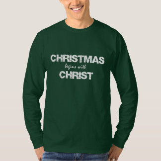 Christian Quote Christmas T-Shirt