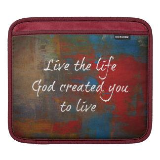 Christian Quote iPad Sleeve