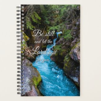 Christian Quote Scenic Background Planner