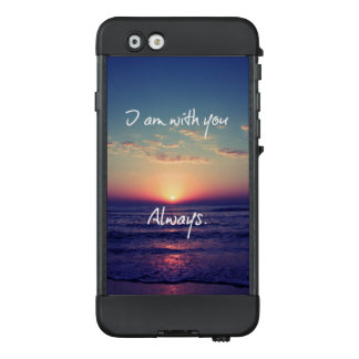 Christian Quote Verse: I am with you always LifeProof NÜÜD iPhone 6 Case