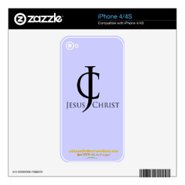 Christian Quotes Decals For iPhone 4
