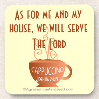 Christian Quotes Inspirational Beverage Coaster