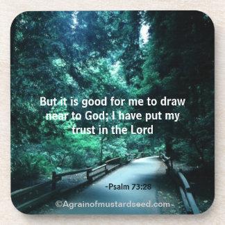 Christian Quotes Inspirational Coaster