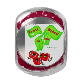 Christian Quotes Inspirational Jelly Belly Candy Jar