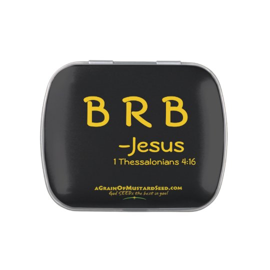 Christian Quotes Inspirational Jelly Belly Tins