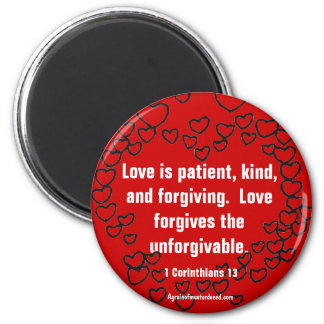 Christian Quotes Inspirational Magnet