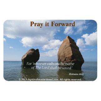 Christian Quotes Inspirational Rectangular Magnet