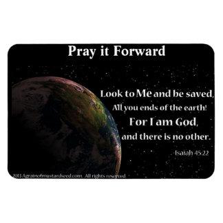 Christian Quotes Inspirational Rectangular Photo Magnet