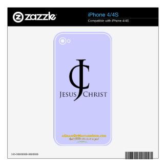 Christian Quotes iPhone 4 Decal