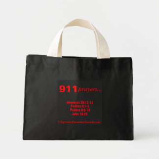 Christian Quotes Mini Tote Bag