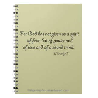 Christian Quotes Notebook