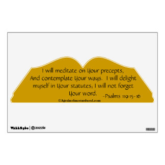 Christian Quotes Room Decal
