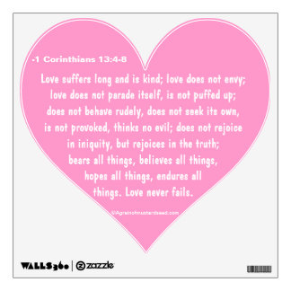 Christian Quotes Room Graphic