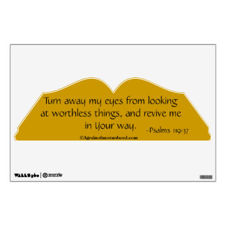 Christian Quotes Room Sticker