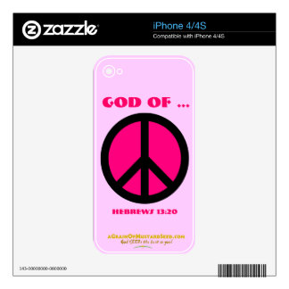 Christian Quotes Skin For The iPhone 4S