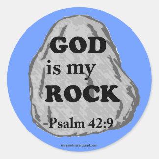 Christian Quotes Round Sticker