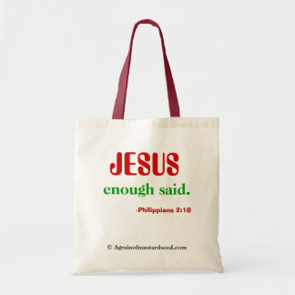 Christian Quotes Tote Bag