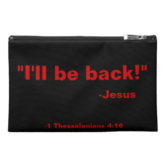 Christian Quotes Travel Accessory Bag