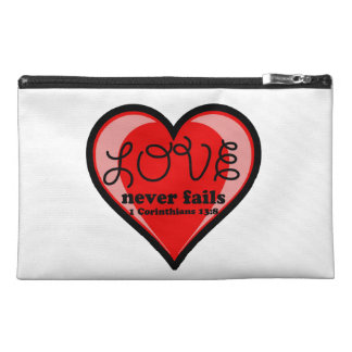 Christian Quotes Travel Accessory Bags