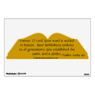 Christian Quotes Wall Graphic