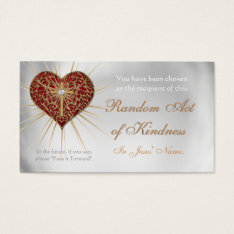 Christian Random Acts Of Kindness Wallet Cards at Zazzle